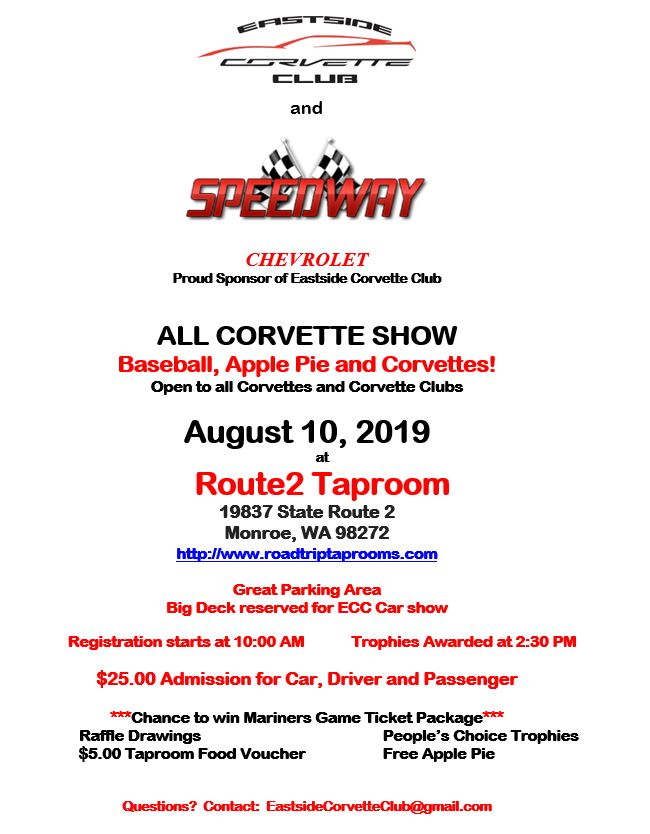 2019 ECC All Corvette Show